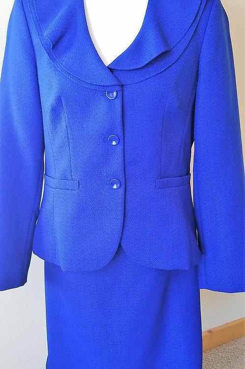 Emily Royal Blue Suit, NWOT Size 10    SOLD