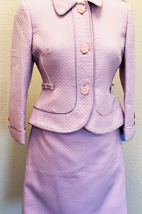 Nipon Boutique Suit, Lavender, Size 4P    SOLD