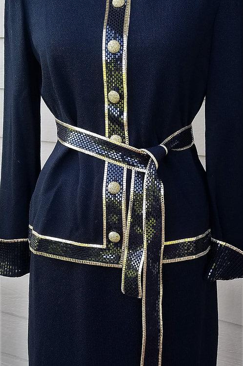 St. John Evening Suit, NWT Jacket Sz 4, Skirt Sz 8    SOLD