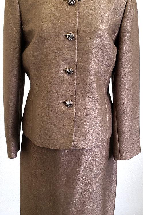 Kasper Gold Label Suit, Size 14   SOLD