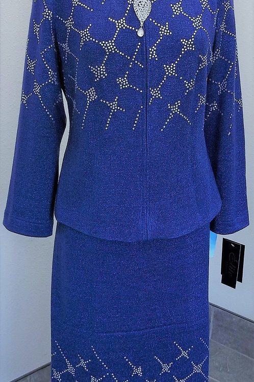 Elite Knit Suit, NWT Size 8    SOLD