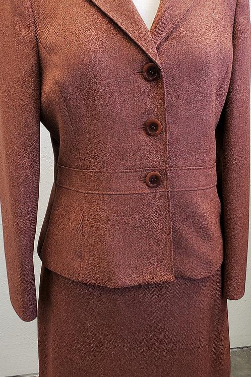 Kasper Suit, Size 10P    SOLD