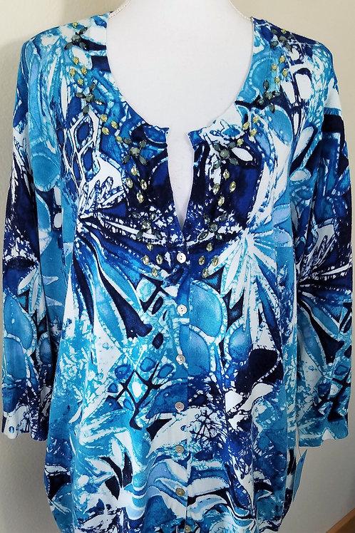 CJ Banks Sweater, Size 3X