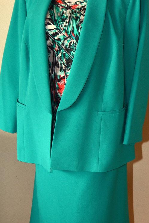 Kasper 3pc Suit, Jacket 18W, Skirt 24W   SOLD