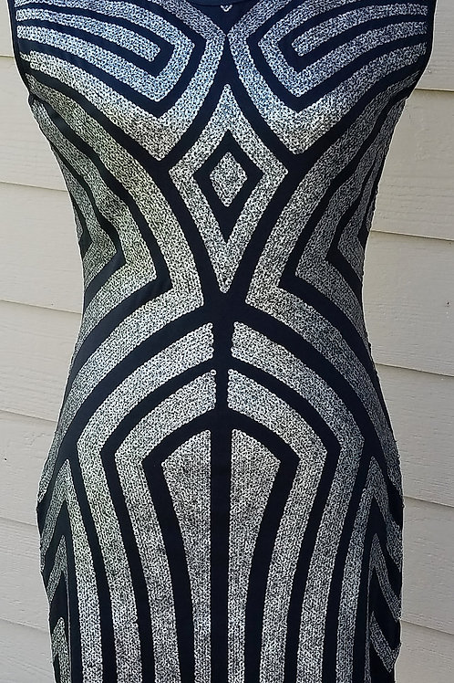 R + J Couture Dress, Size M   SOLD