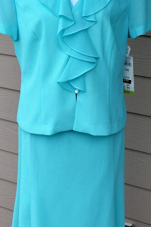 Danny & Nicole Suit, NWT, Size 14   SOLD