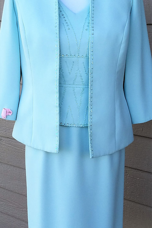 Karen Miller Dress Suit, Size 8    SOLD