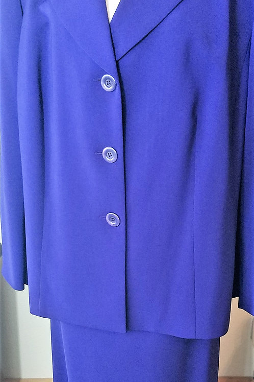 Collections for Le Suit, Royal Purple Suit, Size 24W    SOLD