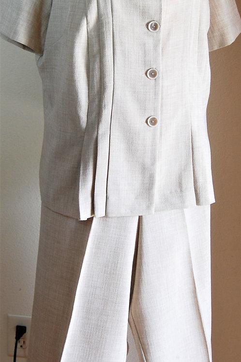 Danny & Nicole Pants Suit, Size 14W   SOLD