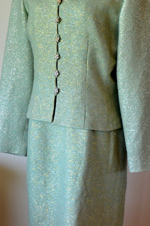 Adrianna Papell Dress Suit, Size 14   SOLD