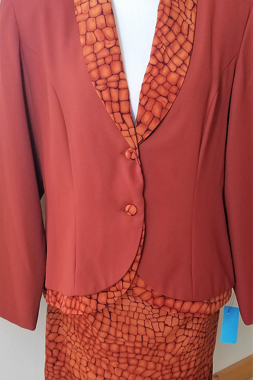 Lew Magram Collection Suit, Size 16    SOLD