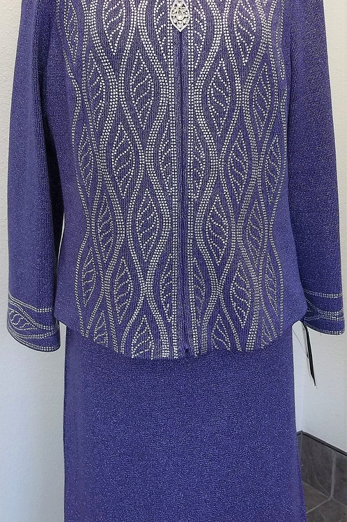 Elite Knit Suit, NWT, Size 14    SOLD