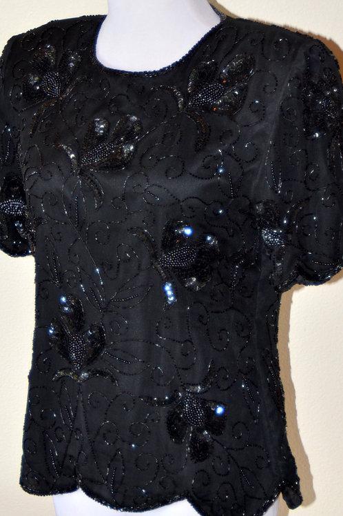 Stenay Beaded Jacket/Shirt, Size M SOLD