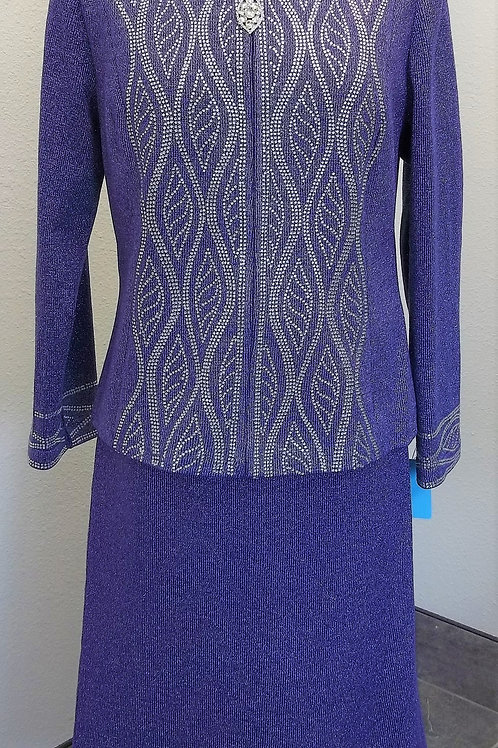 Elite Knit Suit, NWT Size 12     SOLD