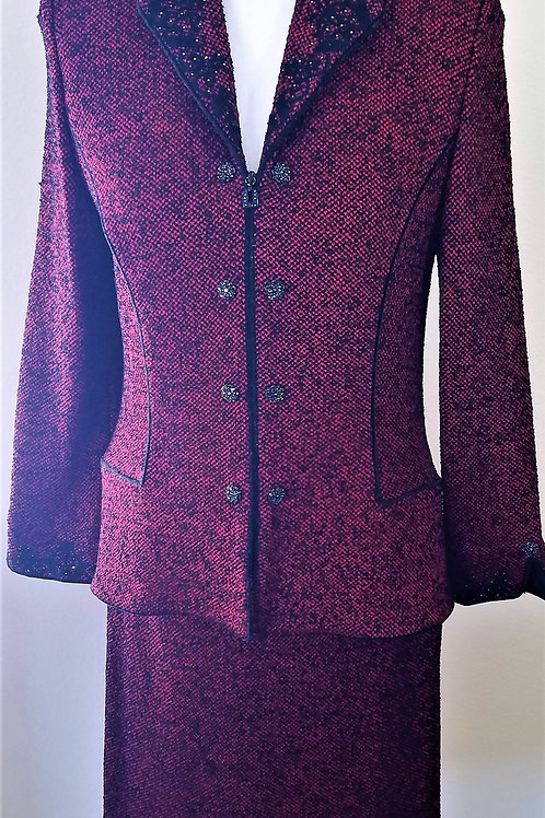 St. John Couture Suit, Size 4    SOLD