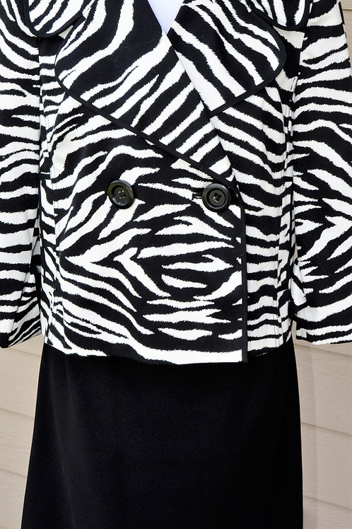 I N C Jacket Size M, No Label Skirt, Size 8