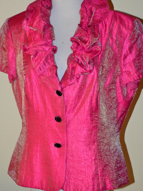 Adrianna Papell Evening Jacket, Size 16  SOLD