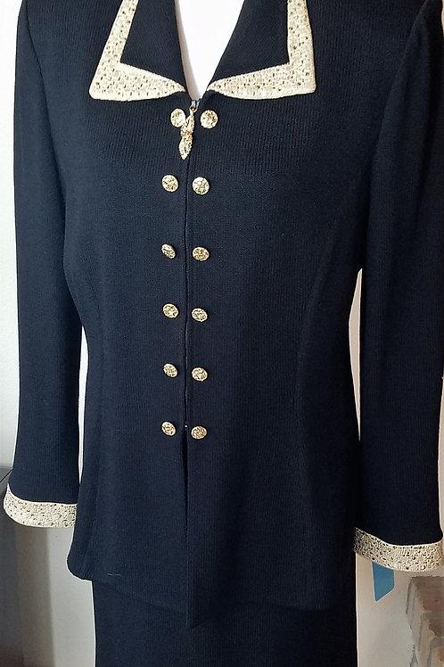 St. John Evening Suit, Size 10   SOLD