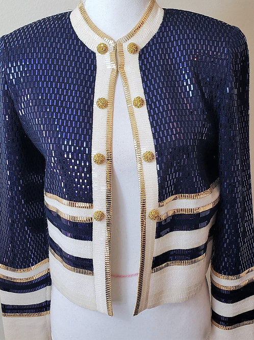 St. John Evening Jacket Only, Size 6    SOLD