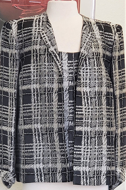 Nipon Boutique Blazer and Shell, Size 16