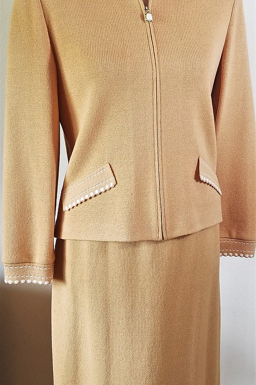 St. John Collection Suit, Jacket Sz 6, Skirt Sz 4
