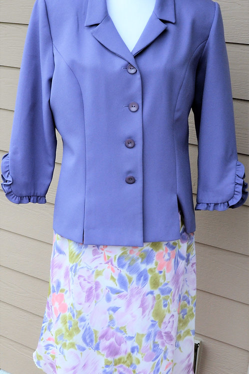 Leslie Fay Suit, Size 16   SOLD