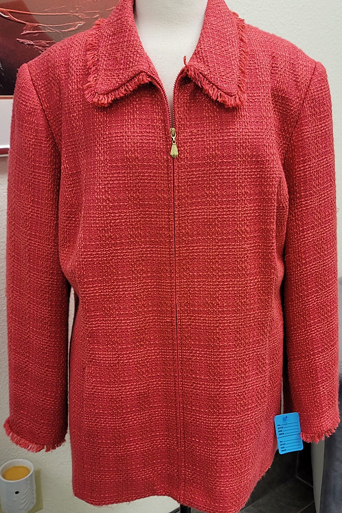 Alfred Dunner Coral Blazer, Size 24W