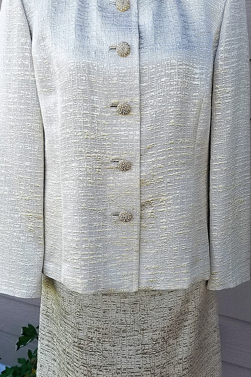 St. John Couture Suit, NWOT Size 14      SOLD
