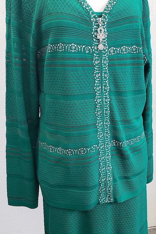 Kayla Knit Suit, 3 pcs, NWT, Size 18   SOLD