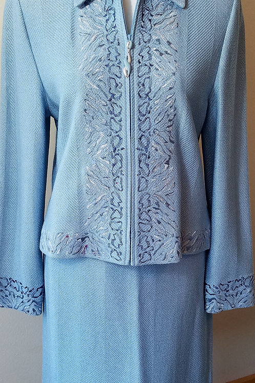 MM St. John Collection Suit, Jacket Sz 8, Skirt Sz 4