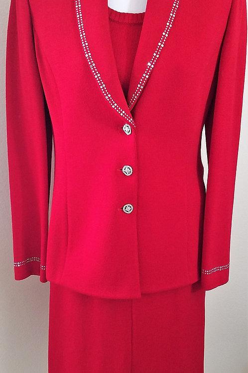 MM St. John Evening Suit, Jacket Sz 6, Skirt Sz 4   SOLD