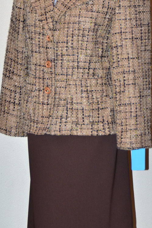 R.Q.T. Blazer, Sz 12P, Le Suit Skirt, Sz 12   SOLD