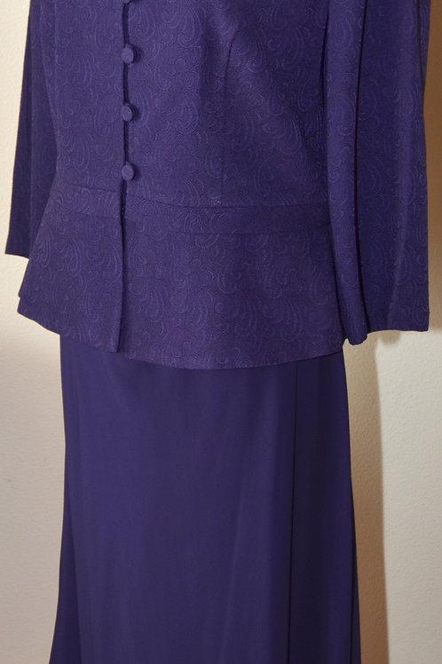Karin Stevens Suit, Size 12   SOLD
