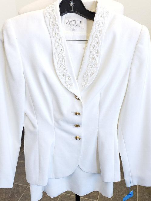 Petite Sophisticate Suit, Size 0P    SOLD