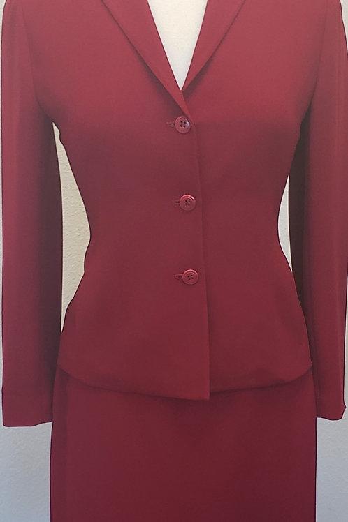 Petite Sophisticate Suit, Size 2    SOLD