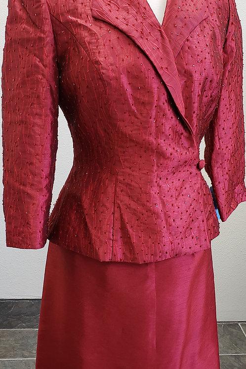 Alex Evenings Suit, Size 6