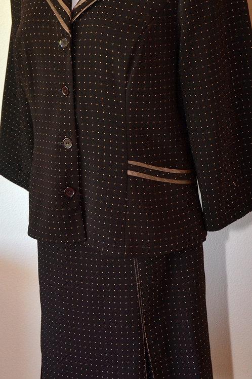 Ombre Suit, Size 14   SOLD