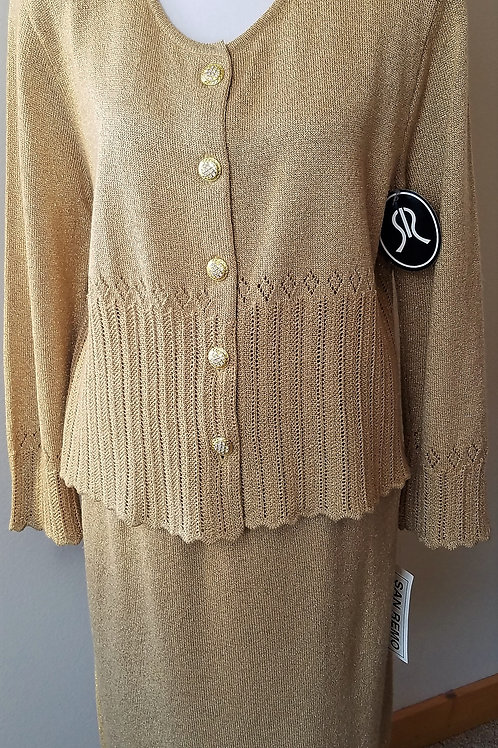San Remo Knit Suit, NWT Size M    SOLD