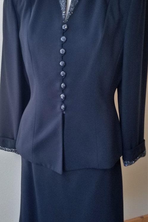 Albert Nipon Evening Suit, Size 6    SOLD