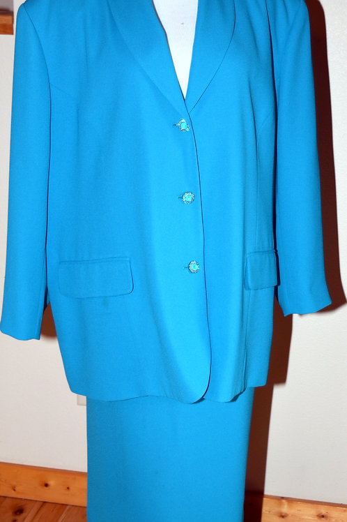 Jon Lawrence Suit, Size 26W  SOLD