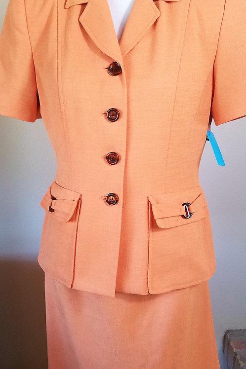Kasper Suit, Size 8P     sold