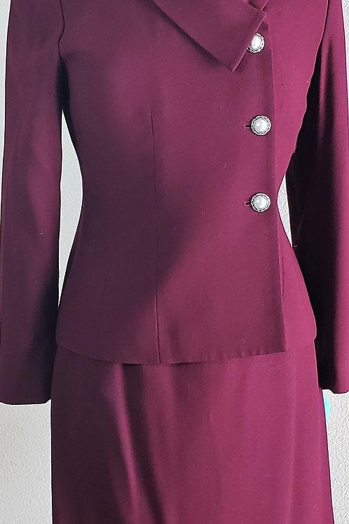 Kasper Suit, Size 4P    SOLD