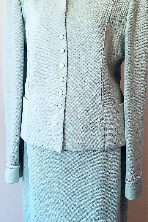 St. John Evening Suit, Size 14    SOLD