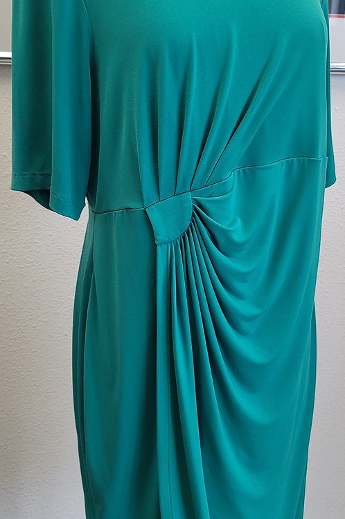 Dress Barn Kelly Green Dress, Size 16
