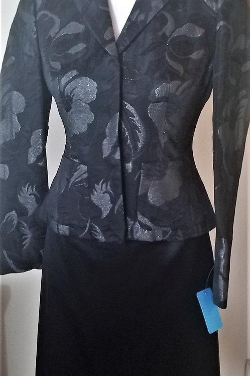 Nine West Jacket Size 0P, WH/BM Skirt Size 0   SOLD