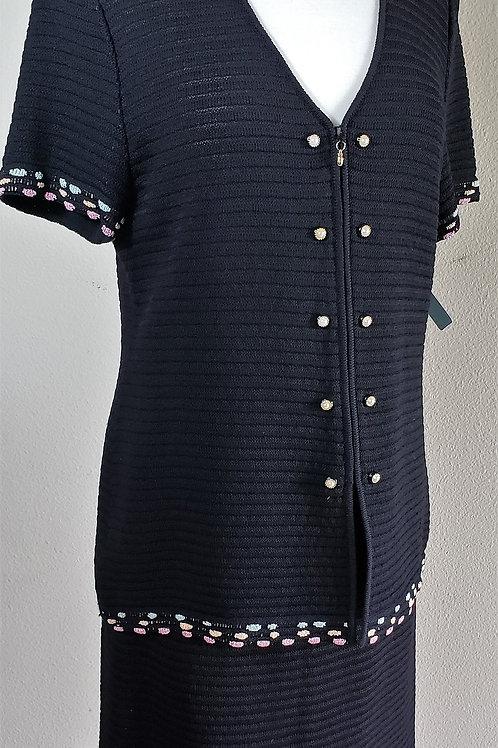St. John Collection Suit, Jacket Sz 8, Skirt Sz 10