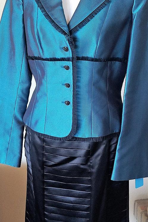 Kay Unger Jacket, Worthington Skirt, Size 8   SOLD