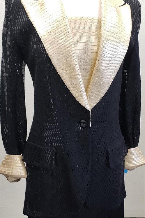 St John Evening Suit, Size 8