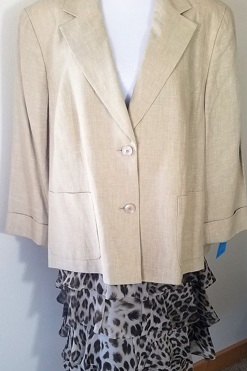 Jones NY Jacket, Talbots Skirt NWT, Size 22W