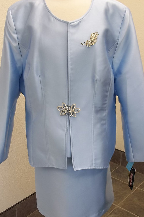 Champagne Italy Suit Sz 24 NWT